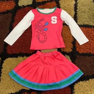 Addison ZOMBIES 2 - Cheerleader Halloween Costume
